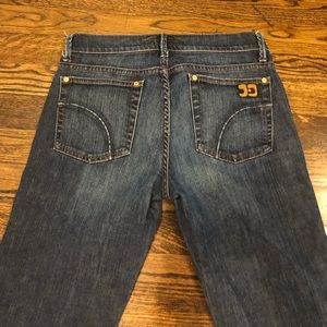 Joe's Jeans light wash flare leg jeans